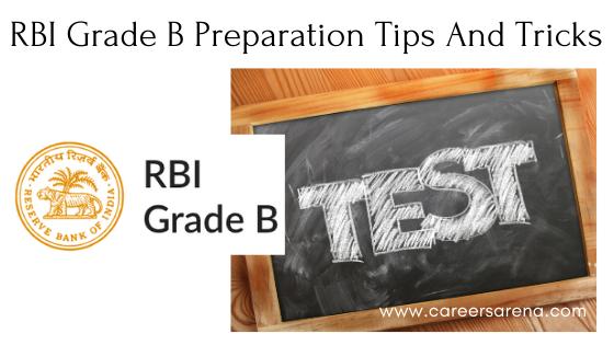 RBI Grade B Preparation Tips And Tricks