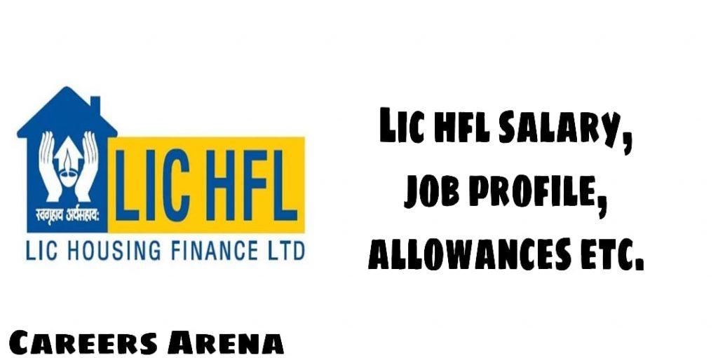 LIC HFL SALARY
